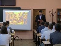 Валерий Иванов принял участие в проведении открытого урока, посвященного Дню народного единства